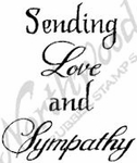 CC9566 Mixed Font Sending Love And Sympathy