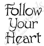 B9398 Cute Follow Your Heart