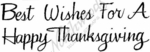 D10106 Ornate Best Wishes For A