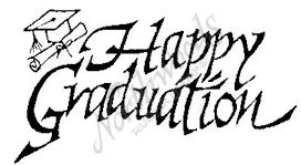 D2318 Calligraphy Happy Graduation