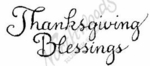 D2608 Curly Thanksgiving Blessings