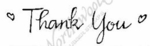 D2696 Calligraphy Thank You