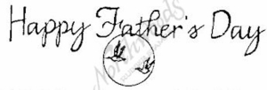 D3415 Calligraphy Happy Father's Day