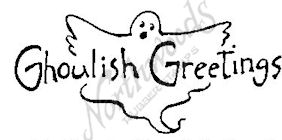 D4404 Ghostly Ghoulish Greetings