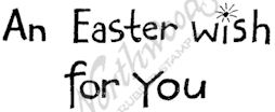 D7302 Simple An Easter Wish For You