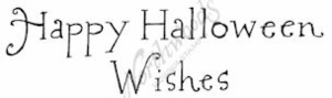 D7564 Whimsy Happy Halloween Wishes