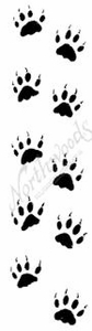 D7977 Fox Paw Prints