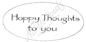 D7990 Hoppy Thoughts To You In Oval