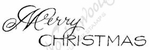 D8262 Mixed Font Merry Christmas