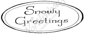D8358 Snowy Greetings