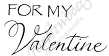 D8402 Mixed Font For My Valentine