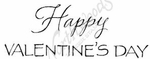 D8406 Mixed Font Happy Valentine's Day