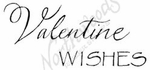 D8407 Mixed Font Valentine Wishes