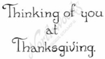 D8723 Vintage Thinking Of You At Thanksgiving