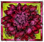 B9470 Dahlia Blossom In Small Square