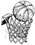 E1086 Hoop and Basketball