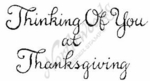E2607 Curly Thinking Of You-Thanksgiving