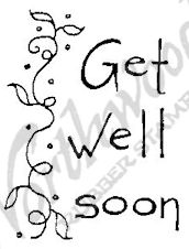 E4360 Tall Simple Get Well Soon