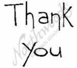 E4365 Tall Simple Thank You