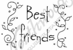 E4368 Tall Simple Best Friends