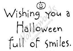 E4402 Simple Wishing You A Halloween-Smiles
