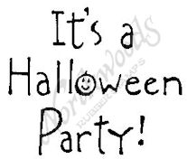 E4409 Simple It's A Halloween Party