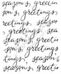 E4446 Script Season's Greetings Block