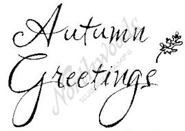E4523 Script Autumn Greetings