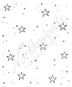 E4849 Star and Dot Background
