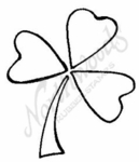 E6460 Medium Modern Open Shamrock