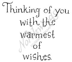 E7508 Whimsy Thinking Of You With The Warmest