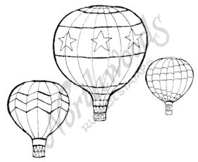 E7902 Three Hot Air Balloons