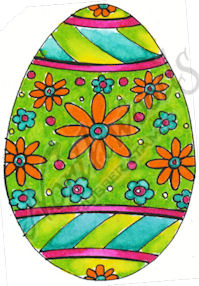 E8449 Flower Power Egg