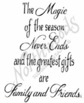 E9341 Mixed Font The Magic Of The Season