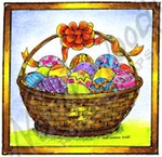 C9407 Easter Basket in Square