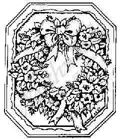 F3891 Wreath Octagon