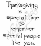 F4823 Simple Thanksgiving Is A Special Time
