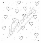 F5035 Heart and Dot Background