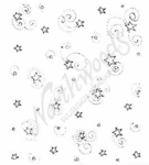 F6173 Starry Background With Swirls