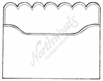 F7849 Scalloped Envelope