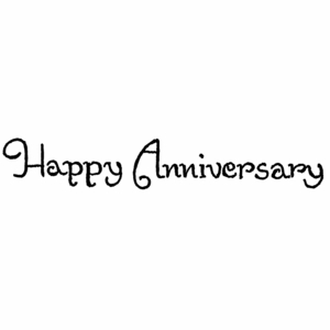 Happy Anniversary - DD10440