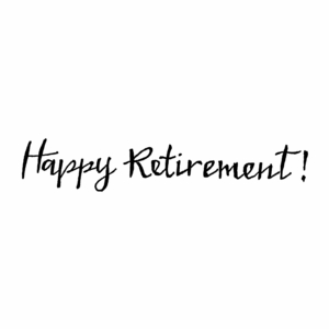Happy Retirement - DD10445