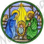 CC9664 Holy Family Circle