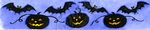 I8630 Solid Bats And Jack O' Lantern