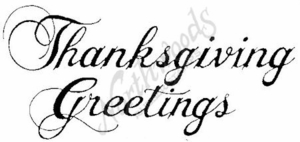 J125 Thanksgiving Greetings