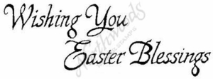 J199 Easter Blessings
