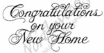 J2029 Congratulations On New Home
