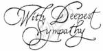 J2239 Scroll With Deepest Sympathy