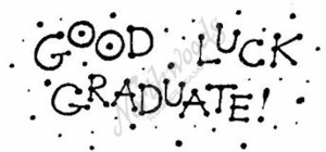 J2315 Dot Good Luck Graduate
