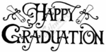 J2331 Bold Happy Graduation With Diploma
